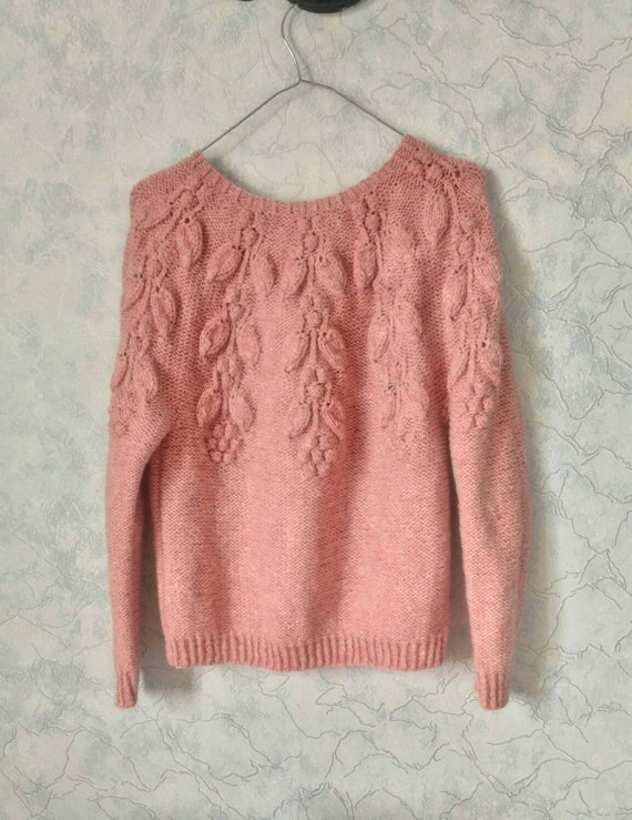 to fall knitted Hand trend summer yarn pullover XS Alpaca soft green Spring winter ship super Light S Ready UwtqxOdd
