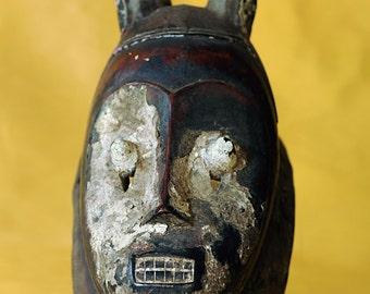 Antique Ivory Coast - West Africa - Senufo Initian Mask
