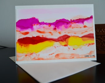 Handmade Cards Set of 4