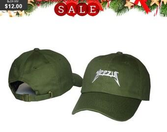 a8393fc2760 Yeezus Hat Cap Yeezy Tour Kanye Embroidered Dad Hat Strapback Green