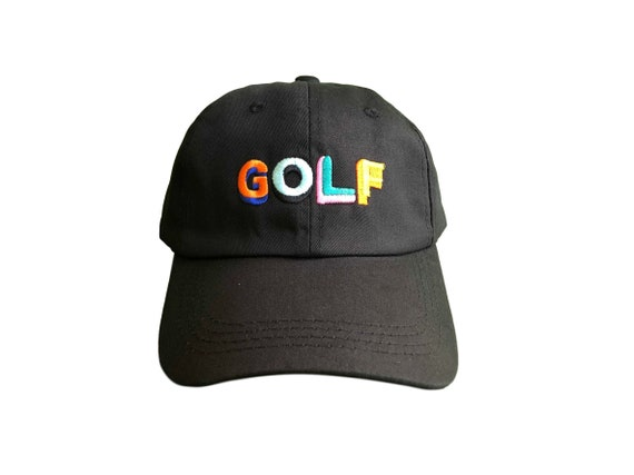 52c1c36b5f7fc Tyler The Creator Golf Inspired Hat Cap Dad Hat Black Colored