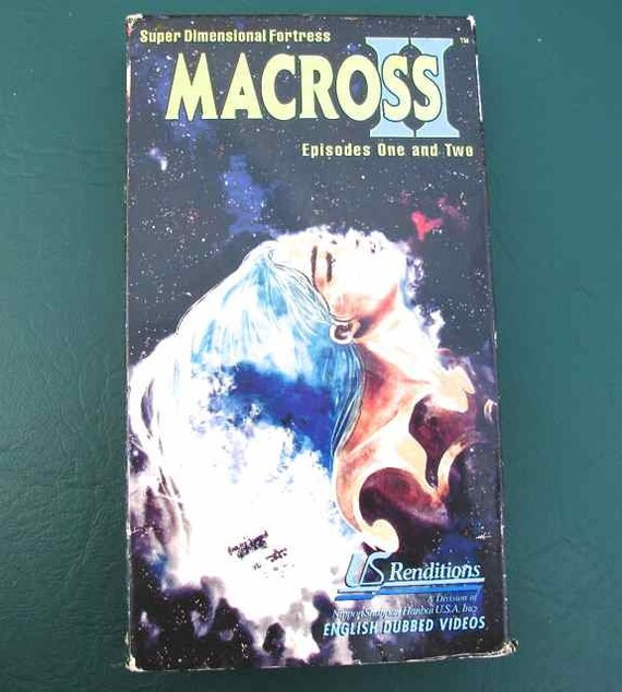 1995 Macross II Japanese Manga Anime English Dubbed VHS Video