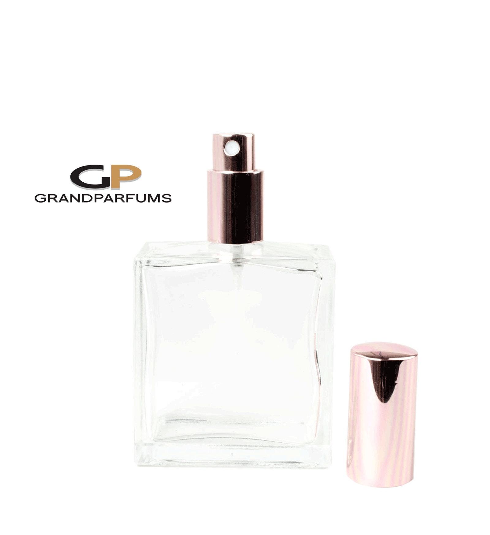 27cf45362bdd 1 ROSE GOLD Perfume ATOMiZER Empty Clear Glass 100ml 3.4 Oz Large ...