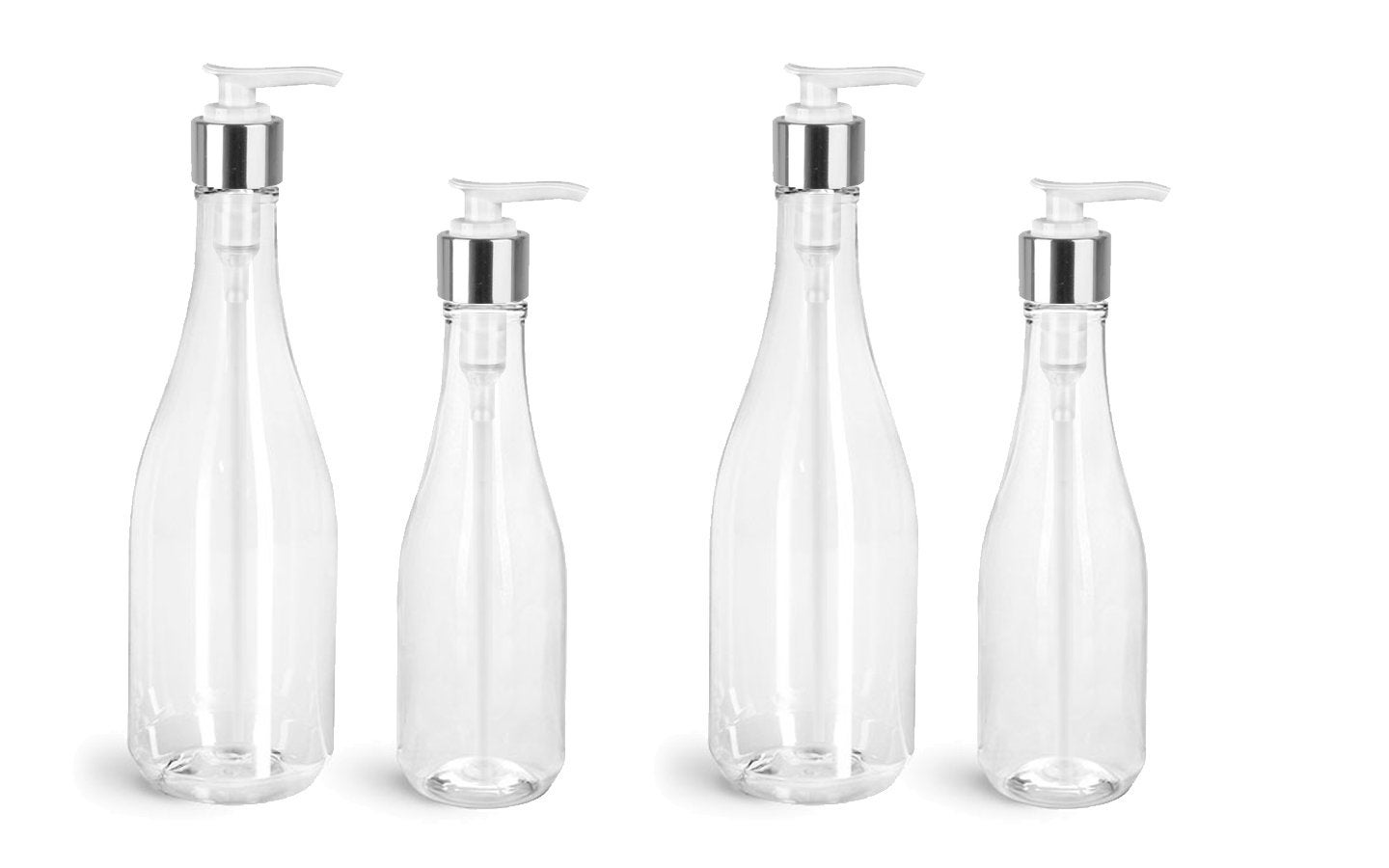 612a7e940e3e 12 Empty Clear Plastic Teardrop Bottles 8 Oz or 14.5 Oz w/ PREMIUM ...