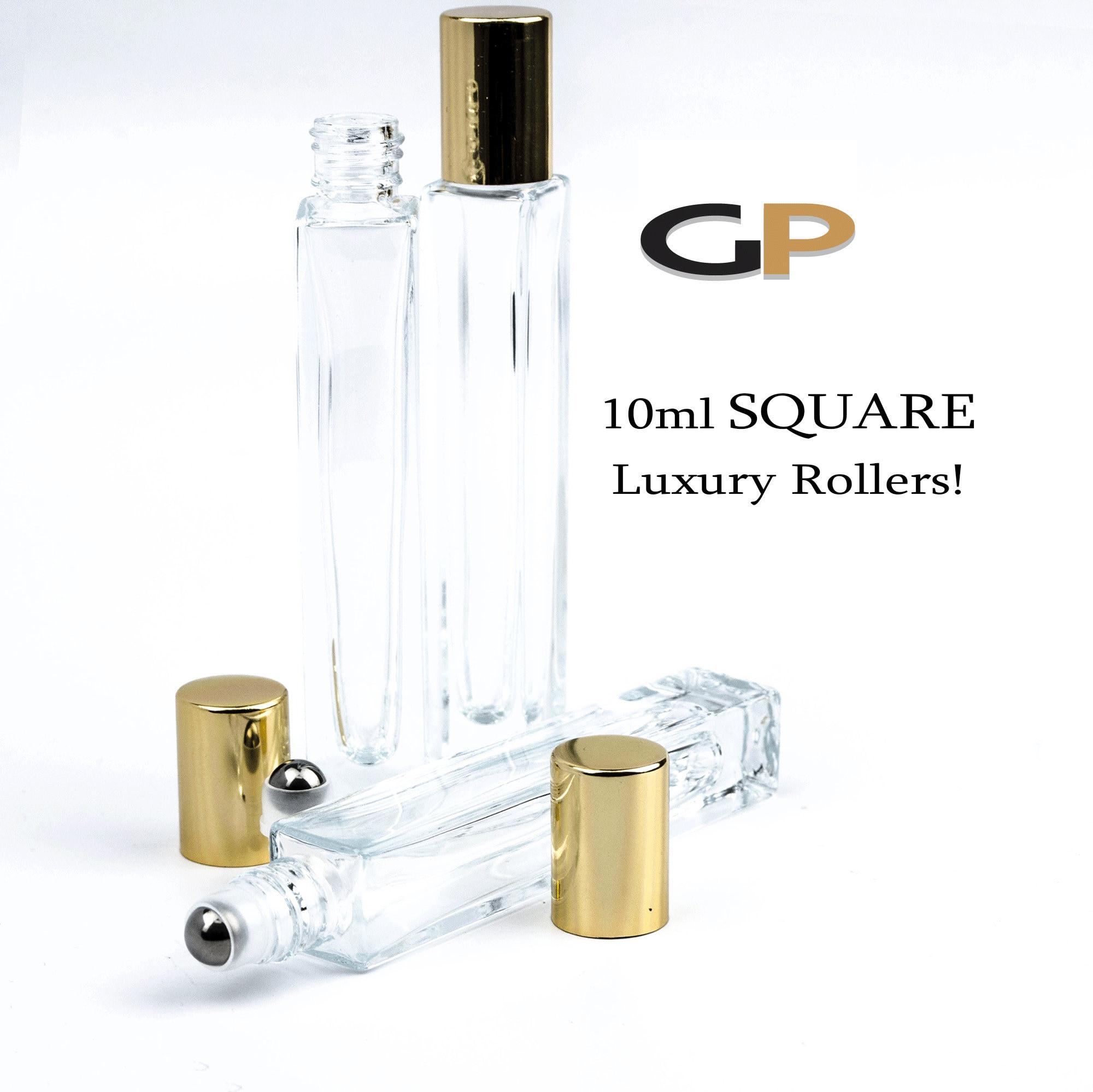 2fc0a12c2e43 PREMIUM 10 ml Square Essential Oil Roller Bottle | Perfume Bottle ...