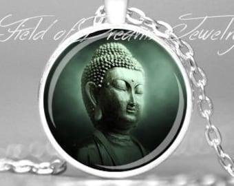 BUDDHA PENDANT BUDDHA Buddhist Jewelry Necklace Zen Pendant Zen Jewelry Buddha Jewelry Zen Gifts Yoga Meditation Jewelry Buddha Pendant