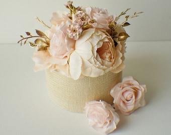 Cake flowers etsy flower cake topper wedding flowers floral cake topper silk flower cake topper wedding decor mightylinksfo