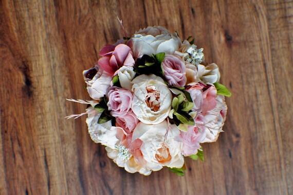Bridal Bouquet Wedding Bouquet Cascading Bouquet Bright Etsy