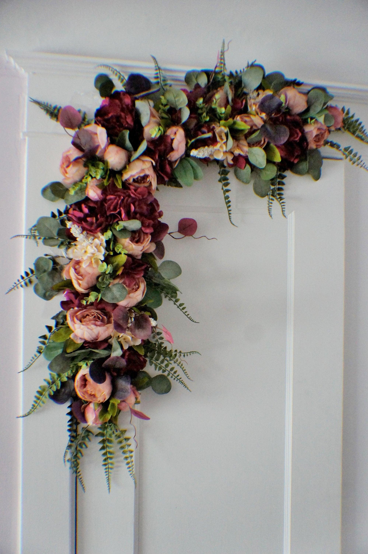 Wedding Arch Swag Eucalyptus Swag Wedding Backdrop Wedding Etsy