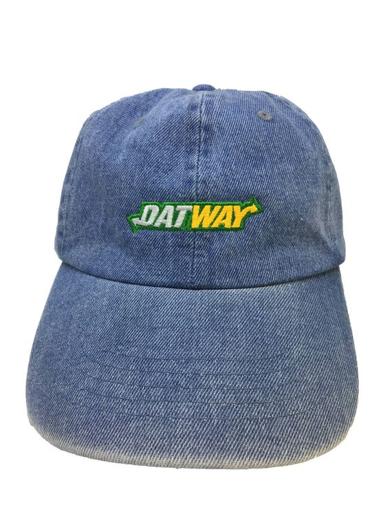 3869590bf8b Datway Denim Adjustable Strapback Cap Dad Hat Migos Rich the