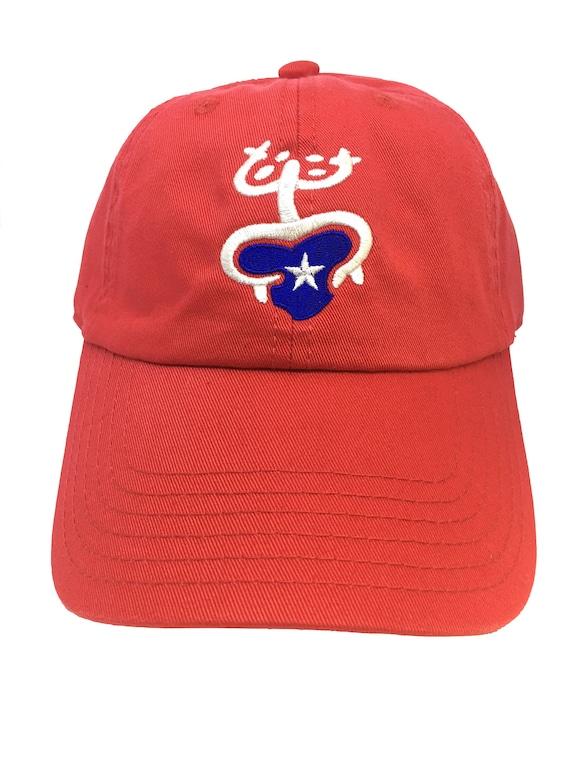 Coqui Puerto Rico Red Adjustable Strapback Cap Dad Hat  f86a64b4970c