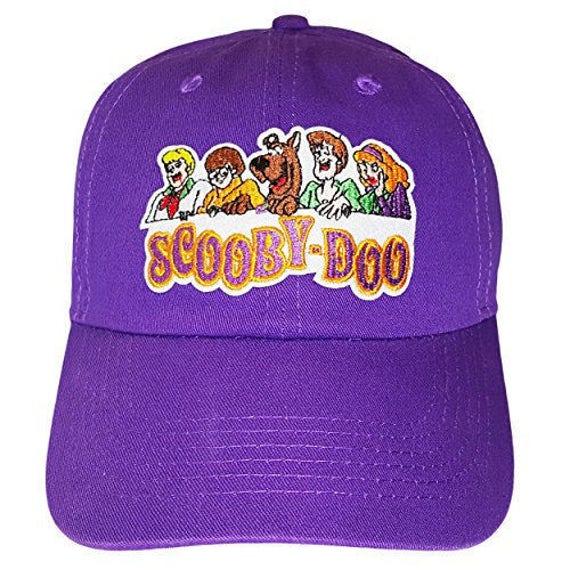 Scooby Doo Purple Adjustable Strapback Dad Hat  1a8ce35ca145