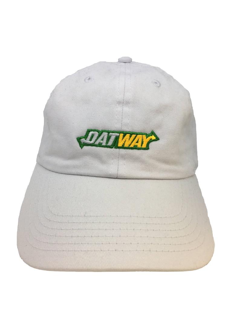 Datway White Adjustable Strapback Cap Dad Hat Migos Rich the  2c90818d23c1