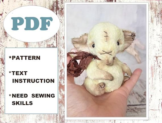 Elefanten-Muster DIY Teddy Plüschtier Puppe Baby-Elefant | Etsy