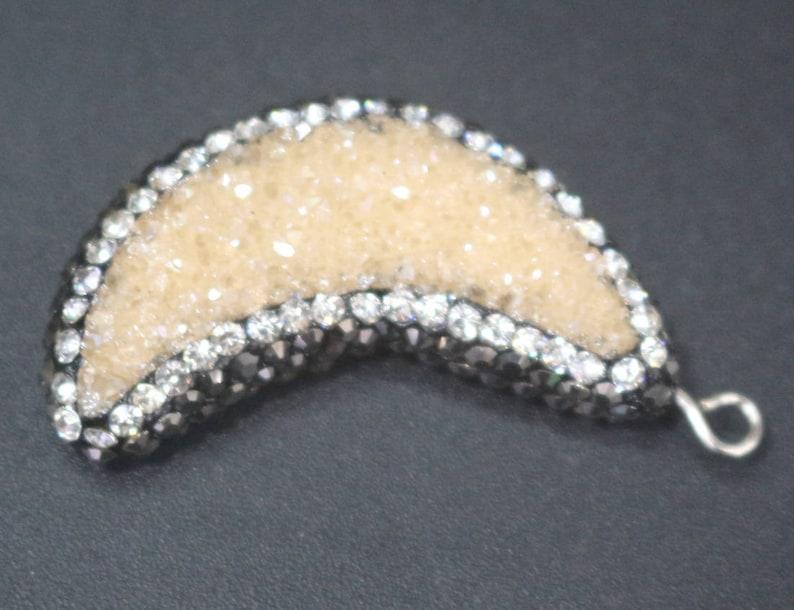 1 pcs Druzy Pendants,Druzy Quartz Pendants,Necklace Pendants,Jewelry making pendants