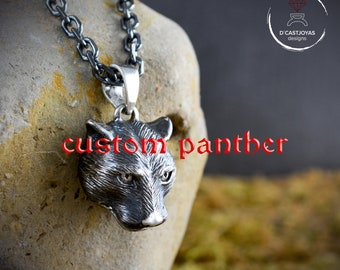 Panther pendant customization supplement, Reserved for Margie