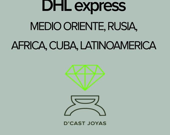 Express shipping upgrade for Medio Oriente, Rusia, Turquía, Latinoamérica, Africa, Gibraltar
