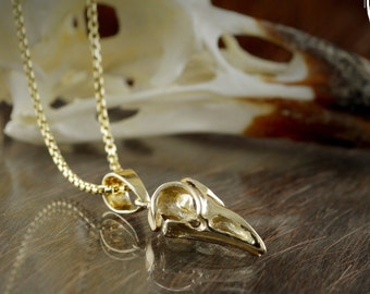 gold skull jewelry