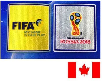 2018 World Cup Soccer Qualifier's Patch !!!
