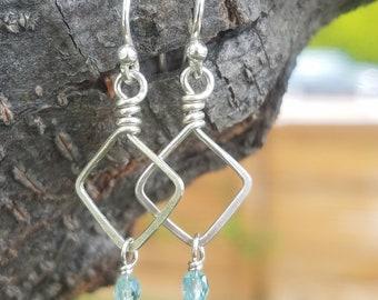 Dazzling Diamond Earrings