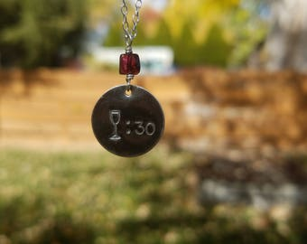 Wine 30 Necklace