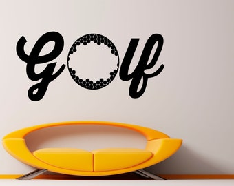 Golf Decal Wall Vinyl Sticker Spotr Game Interior Removable Home Interior Art Decor (7gob2)