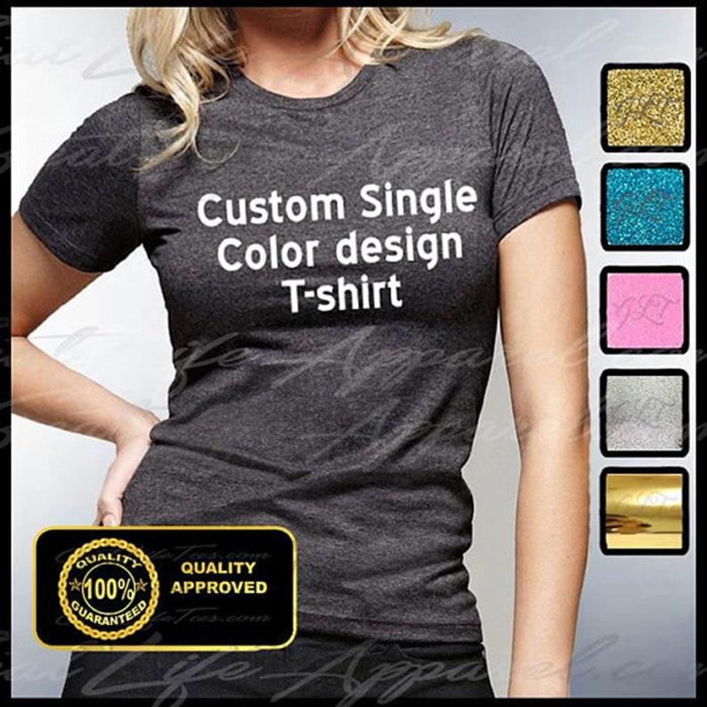 4350f392 Custom Women's Shirt Custom T Shirt Personalized Tshirt | Etsy