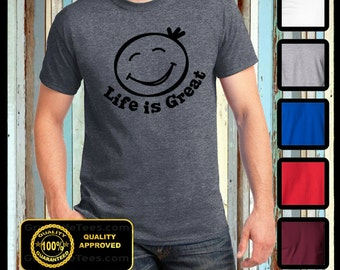 Life is Great Shirt, Greatlifetees, Feel Good T-shirt, Family Tees, Happy Shirts