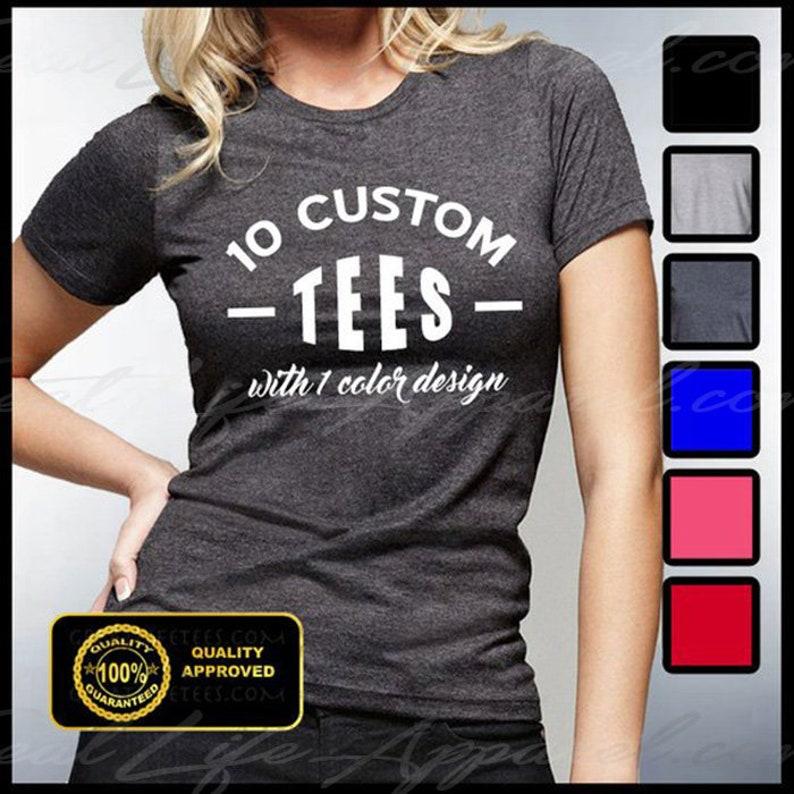 2ce916076 CUSTOM TSHIRTS Personalized Shirts Custom Women's | Etsy