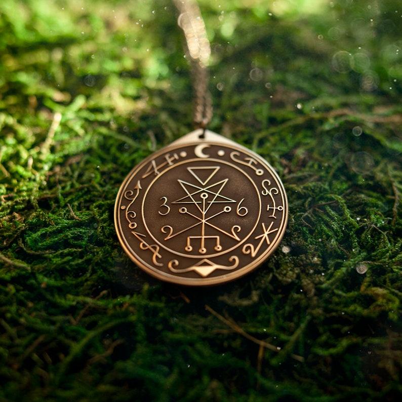78db91e6c1fc Lilith Seal solomon magic pendant kabbalah amulet