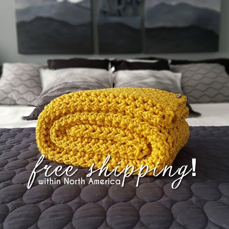 46aaf78af7 Yellow Crochet Blankets – 2019 Inspirational Throw Blankets