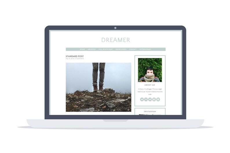 Dreamer  Wordpress Theme  Google Fonts  Self Hosted  image 0