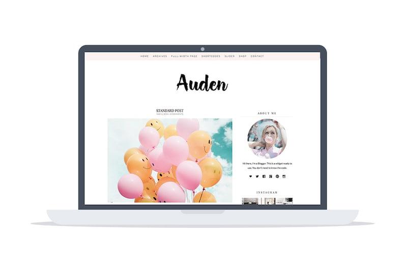 WordPress Theme Auden  Blog Theme  & Shop Theme  image 0