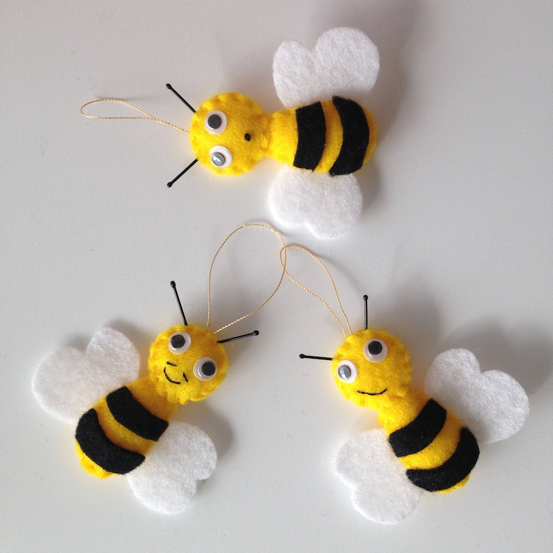 Bee Decorations Ornaments Honey Spring