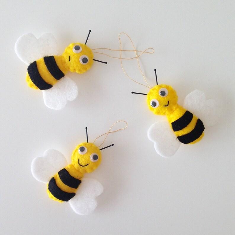 Cute Bee Ornaments Decorations Home Decor Honeybee