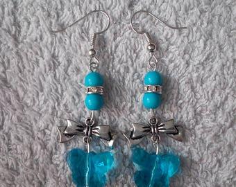 Butterfly earring / butterfly