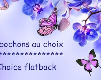 Set Winnie cabochon resin choice / choice flatback