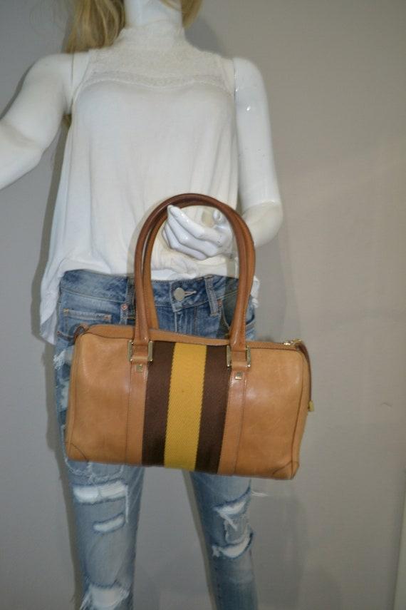 Authentic Gucci Leather Handbag - image 2