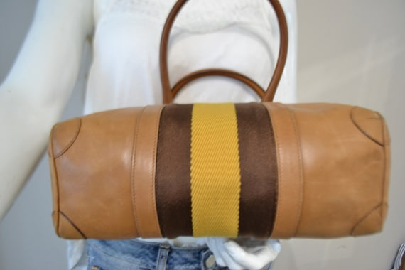 Authentic Gucci Leather Handbag - image 3