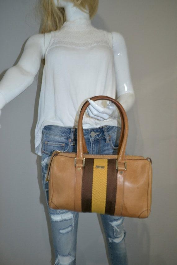 Authentic Gucci Leather Handbag - image 1