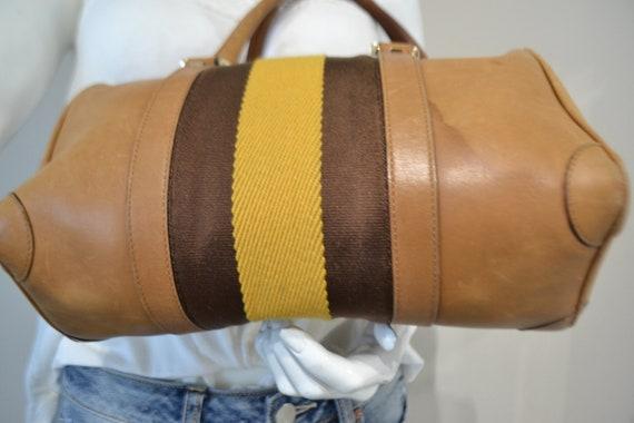 Authentic Gucci Leather Handbag - image 4