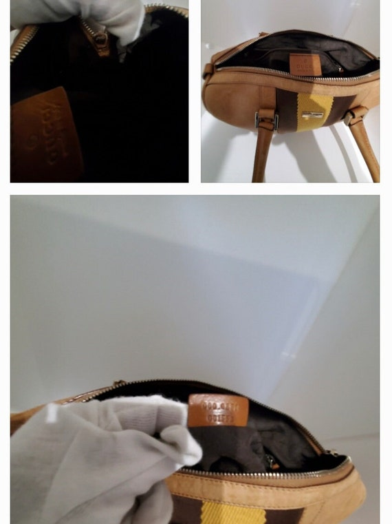 Authentic Gucci Leather Handbag - image 10