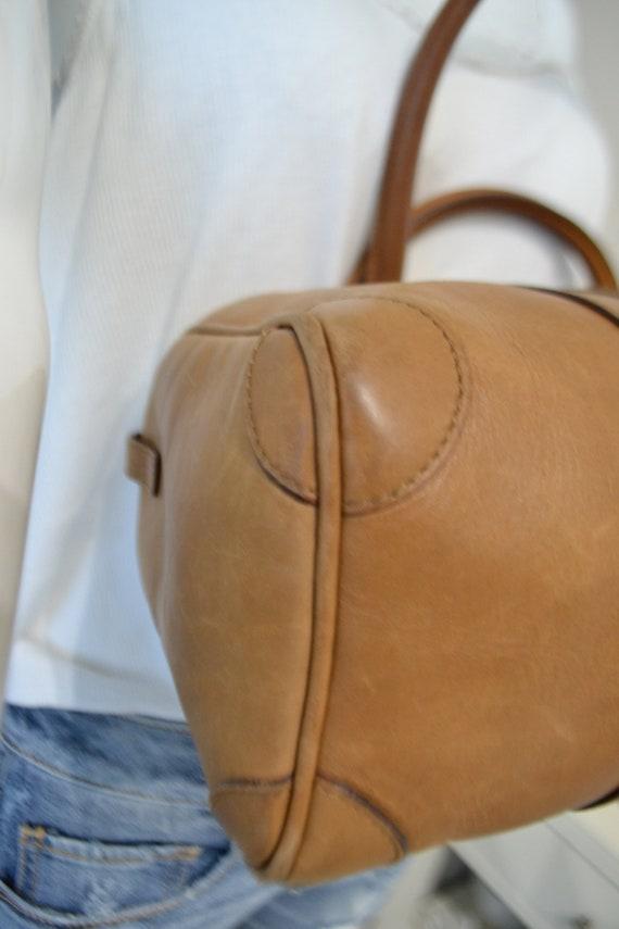 Authentic Gucci Leather Handbag - image 6