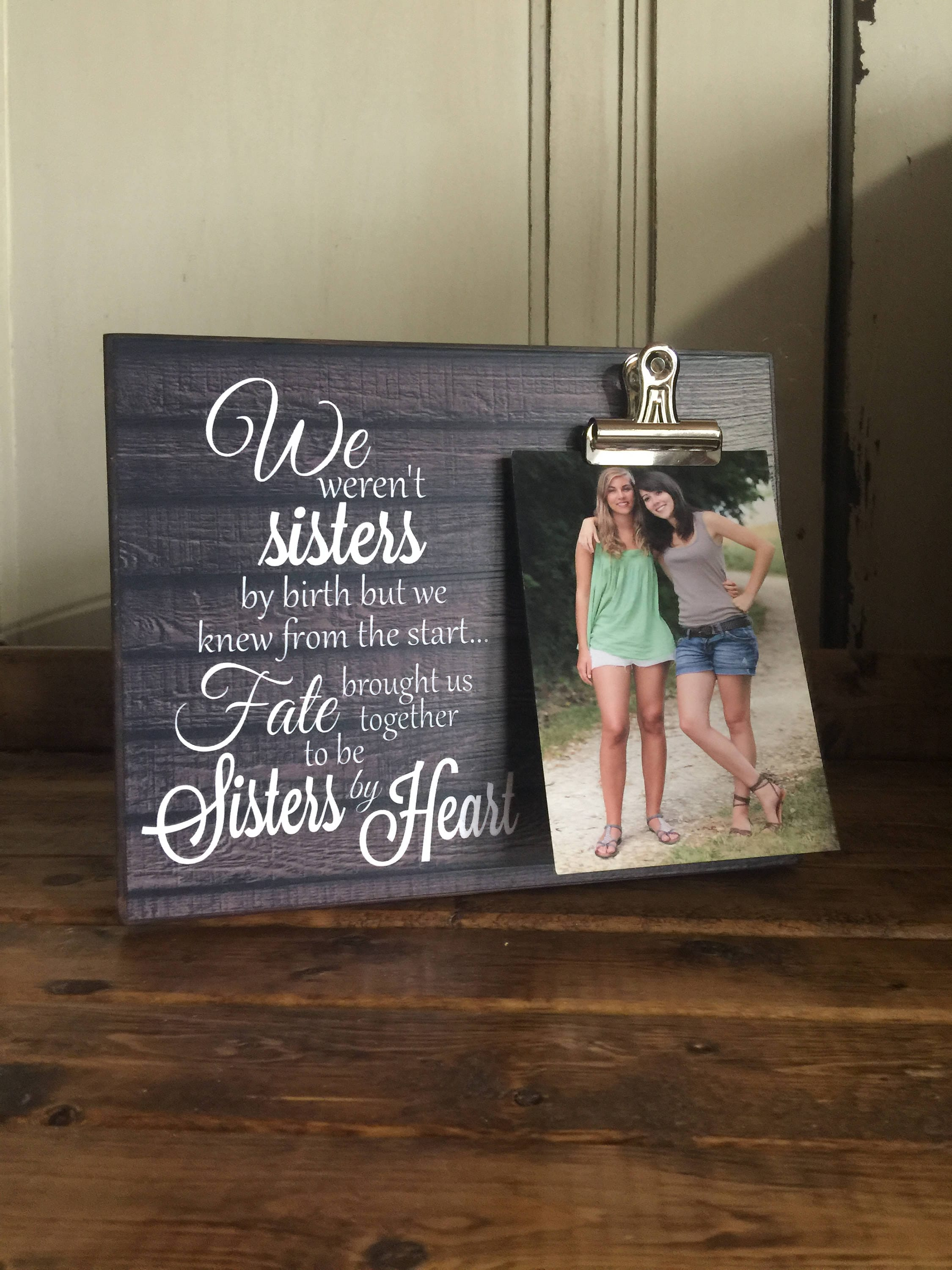 On Sale Gift For Sister Gift For Best Friend We Werent Etsy
