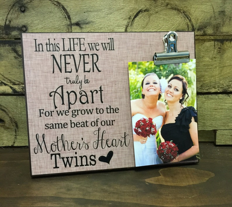 In this life we will never truly be apart Twin Gift Gift for image 0