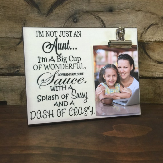 Sisters or Christmas Gift for Sister Aunts Great Gift for Birthday Only The Best Friends Friends Promoted To Aunt 4x6 Inch Wood Picture Frame