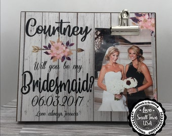 Bridesmaid Gift, Best Friend Gift, Will you be my Bridesmaid, Gift for Sister