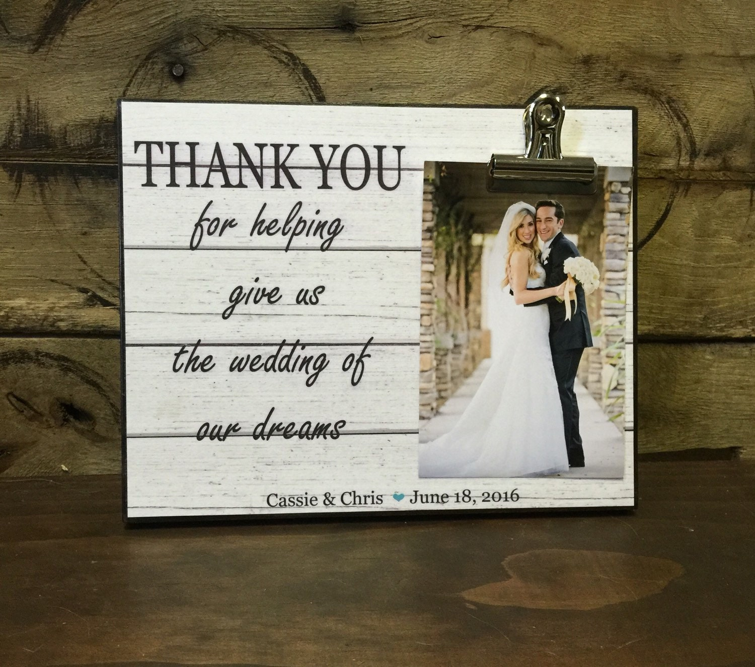 On Sale Wedding Officiant Gift Wedding Gift Thank You For Etsy