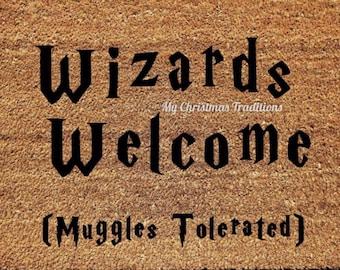 Wizards Welcome Coir Doormat