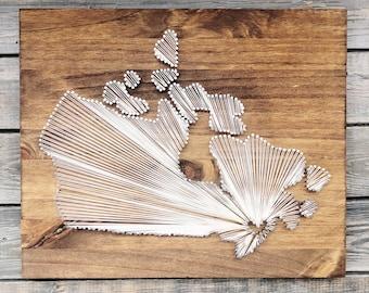 Canada String Art